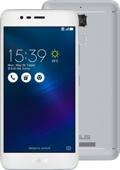 Android ASUS ZenFone 3 Max ZC520TL, stříbrná