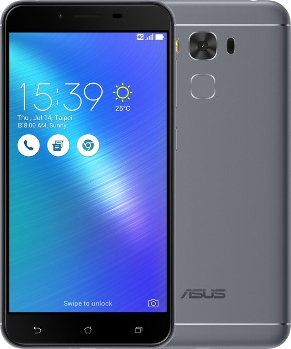 Android ASUS ZenFone 3 MAX ZC553KL MSM8937/32G/3G/A 6.0 šedá