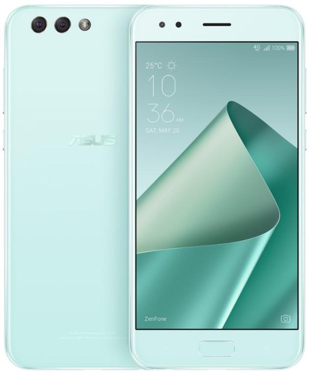 Android ASUS ZenFone 4 ZE554KL SD630/64G/4G/A7.0 zelený