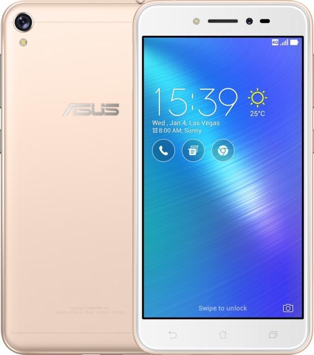 Android Asus Zenfone Live ZB501KL, zlatý