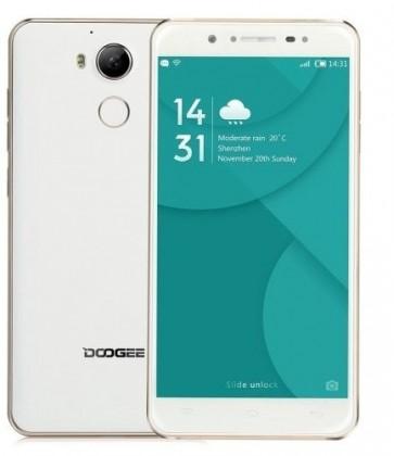 Android DOOGEE F7 Dual SIM, LTE, 32GB, bílo-zlatá