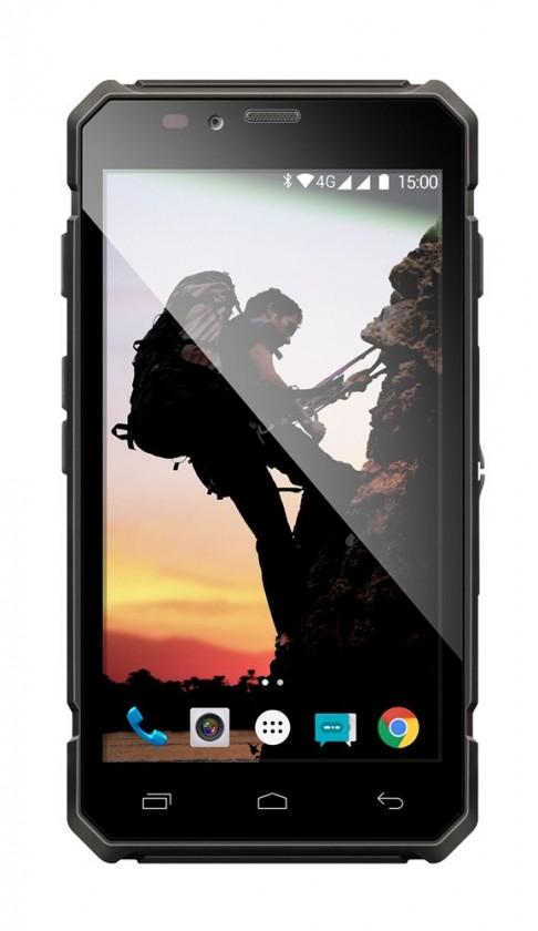 Android Evolveo StrongPhone Q6 LTE, černá