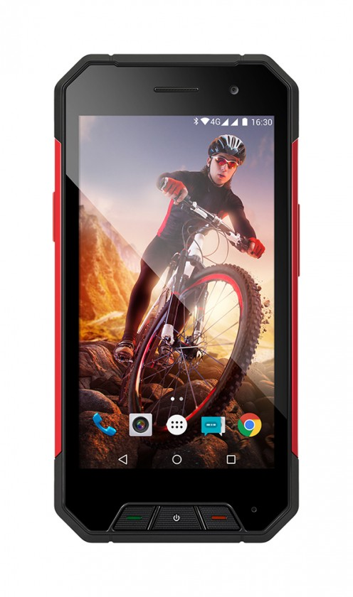Android Evolveo StrongPhone Q7 LTE, černá