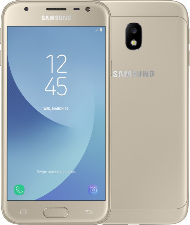 Android Galaxy J3 2017 LTE gold