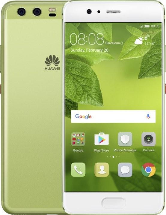 Android Huawei P10 Dual Sim Greenery POUŽITÉ, NEOPOTŘEBENÉ ZBOŽÍ