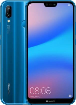Android Huawei P20 Lite Dual Sim Blue POUŽITÉ, NEOPOTŘEBENÉ ZBOŽÍ