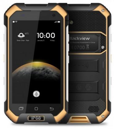 Android iGET Blackview BV6000s, žlutá