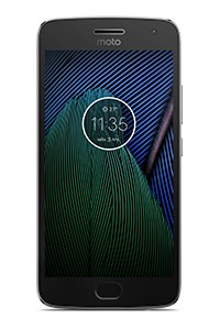 Android Lenovo Moto G 5 Plus, šedá
