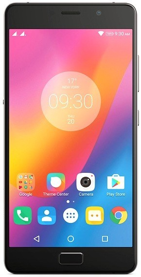 Android Lenovo P2 Dual, šedá