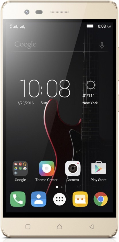 Android Lenovo Vibe K5 Note Dual SIM, zlatá