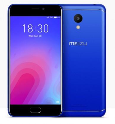 Android MEIZU M6, 3GB/32GB, modrá