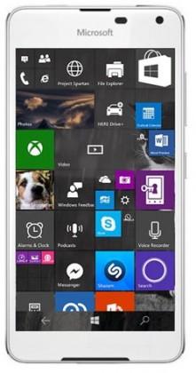Android Microsoft Lumia 650, bílá