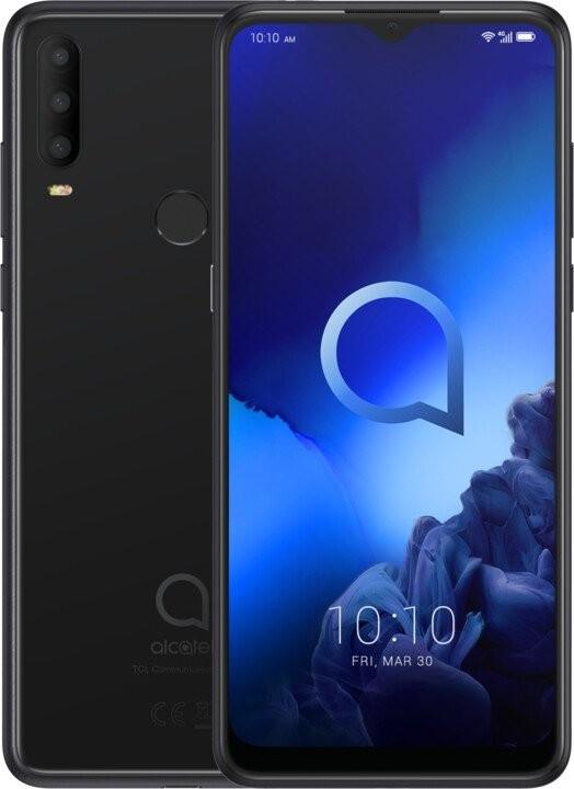 Android Mobilní telefon Alcatel 3X 2019 6GB/128GB, černá