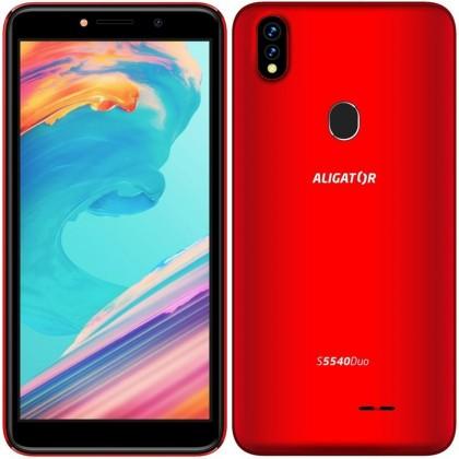 Android Mobilní telefon Aligator S5540 2GB/32GB, červená