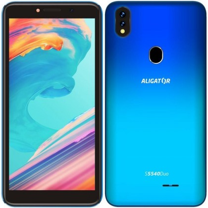 Android Mobilní telefon Aligator S5540 2GB/32GB, modrá