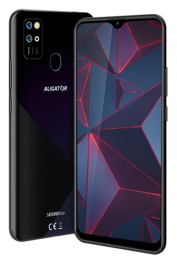 Android Mobilní telefon Aligator S6500 2GB/32GB, černá