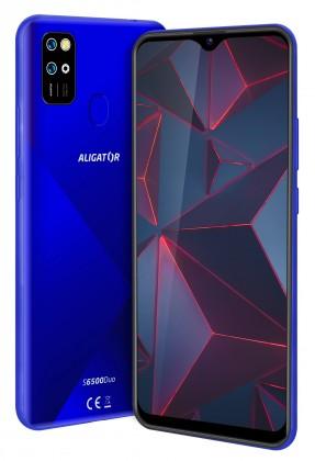 Android Mobilní telefon Aligator S6500 2GB/32GB, modrá