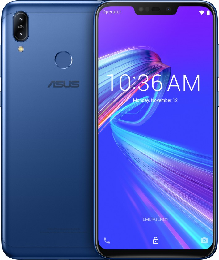 Android Mobilní telefon Asus Zenfone MAX M2 4GB/32GB, modrá