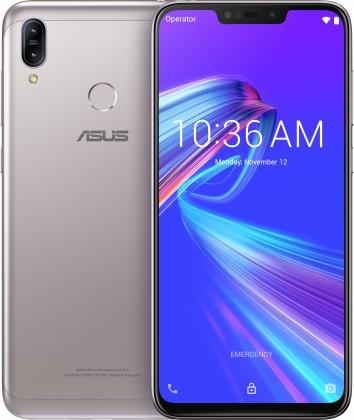 Android Mobilní telefon Asus Zenfone MAX M2 4GB/32GB, stříbrná