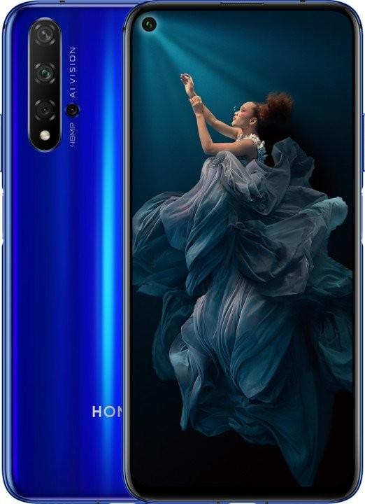 Android Mobilní telefon Honor 20 6GB/128GB, modrá