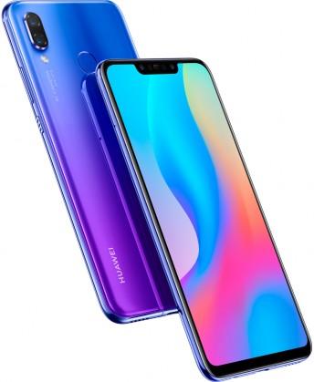 Android Mobilní telefon Huawei NOVA 3 4GB/128GB, fialová
