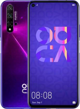 Android Mobilní telefon Huawei Nova 5T DS, fialová