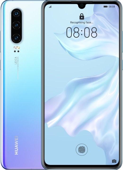 Android Mobilní telefon Huawei P30 DS 6GB/128GB, světle modrá