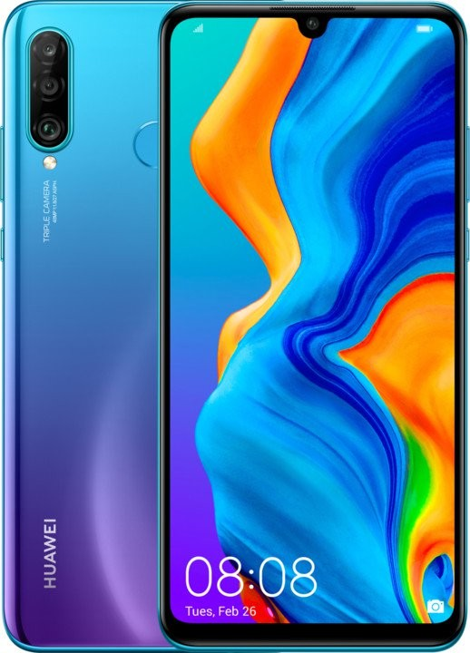 Android Mobilní telefon Huawei P30 LITE DS 4GB/128GB, modrá