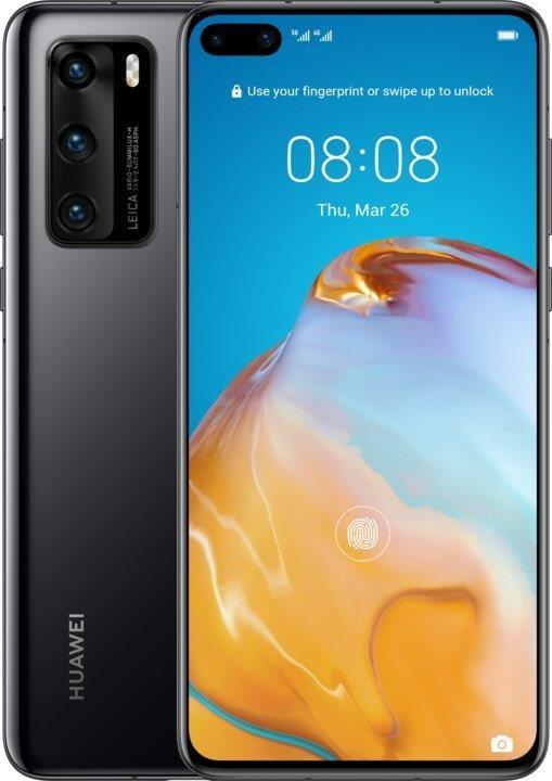 Android Mobilní telefon Huawei P40 8GB/128GB Black