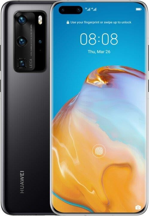 Android Mobilní telefon Huawei P40 Pro 8GB/256GB Black ROZBALENO