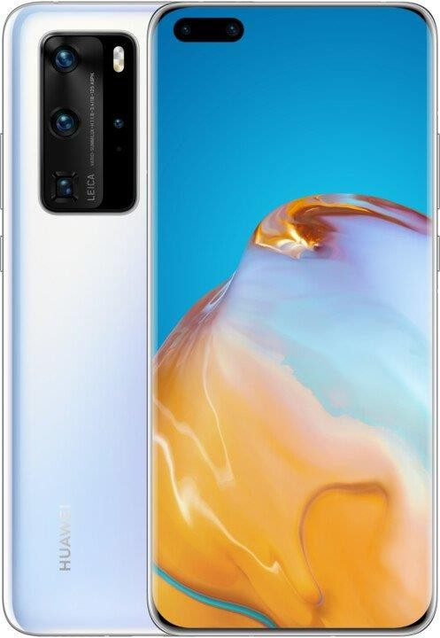 Android Mobilní telefon Huawei P40 Pro 8GB/256GB Frost White