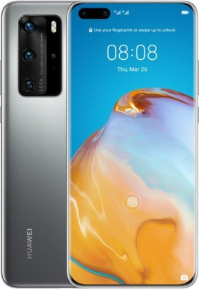 Android Mobilní telefon Huawei P40 Pro 8GB/256GB, stříbrná