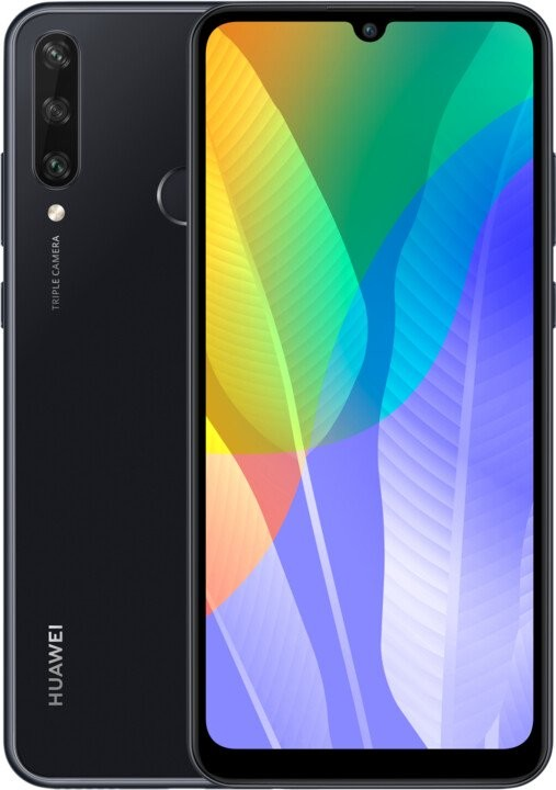 Android Mobilní telefon Huawei Y6P 3GB/64GB, černá
