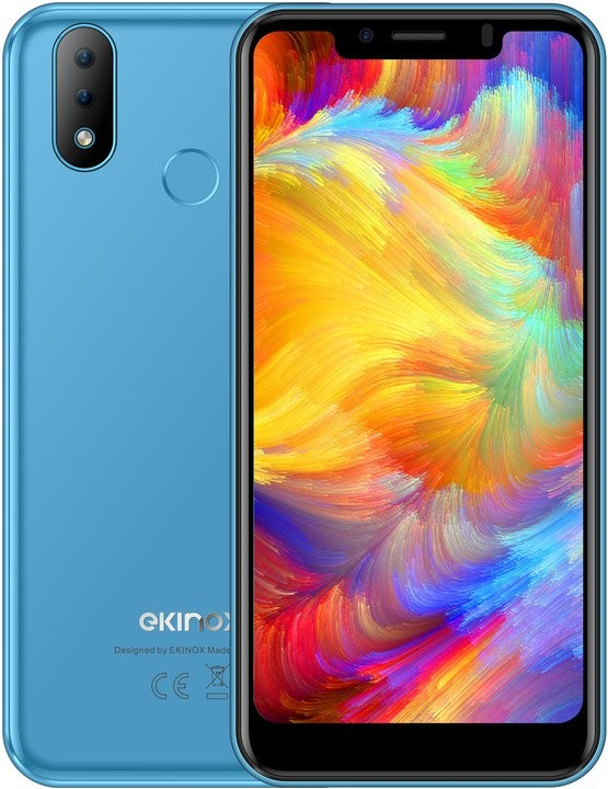 Android Mobilní telefon iGET Ekinox E6 2GB/16GB, modrá