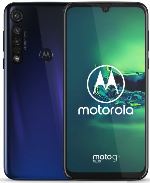 Android Mobilní telefon Motorola G8 Plus 4GB/64GB, modrá