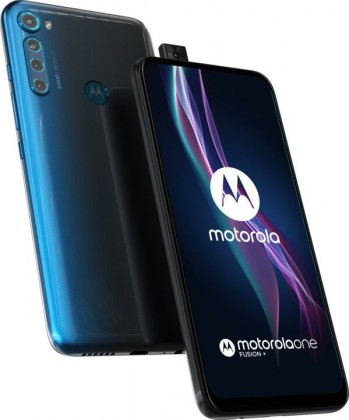 Android Mobilní telefon Motorola One Fusion+ 6GB/128GB, modrá