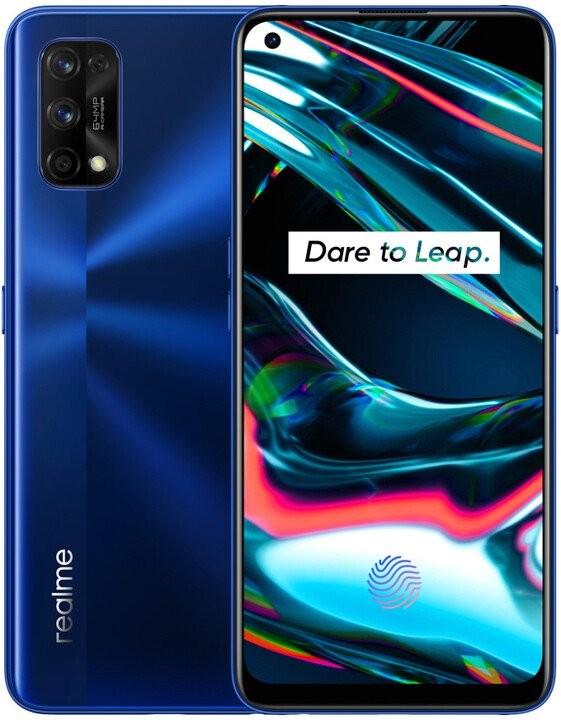 Android Mobilní telefon Realme 7 Pro 8GB/128GB, modrá