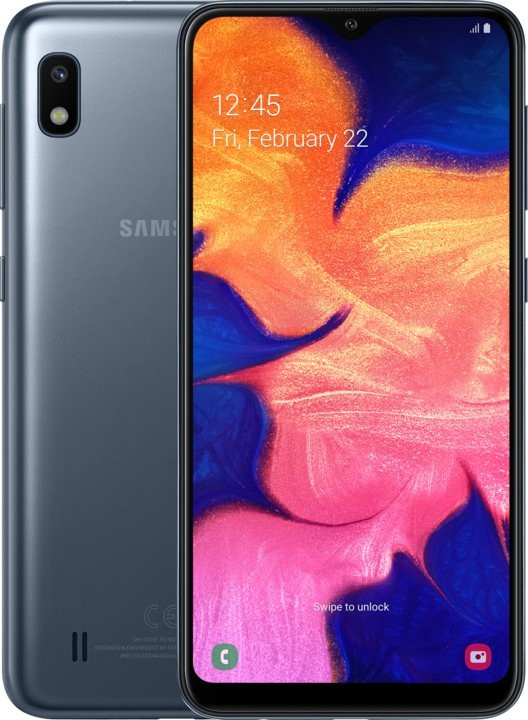 Android Mobilní telefon Samsung Galaxy A10 2GB/32GB, černá