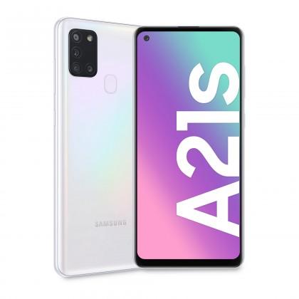 Android Mobilní telefon Samsung Galaxy A21s 3GB/32GB, bílá