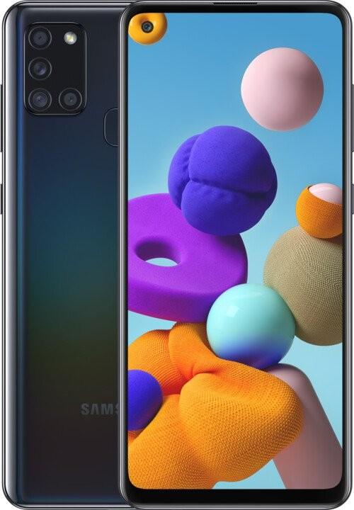 Android Mobilní telefon Samsung Galaxy A21s 3GB/32GB, černá