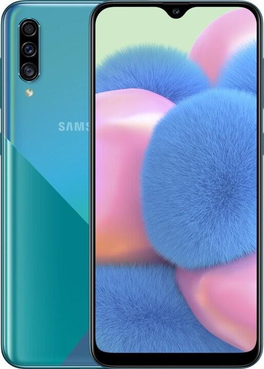 Android Mobilní telefon Samsung Galaxy A30s 4GB/64GB, zelená