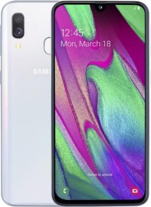 Android Mobilní telefon Samsung Galaxy A40 4GB/64GB, bílá