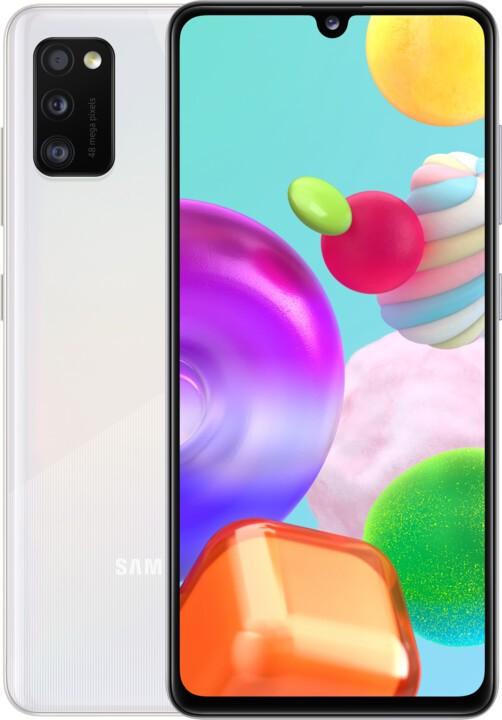 Android Mobilní telefon Samsung Galaxy A41 4GB/64GB, bílá