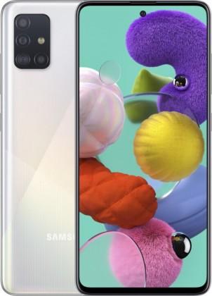 Android Mobilní telefon Samsung Galaxy A51 4GB/128GB, bílá