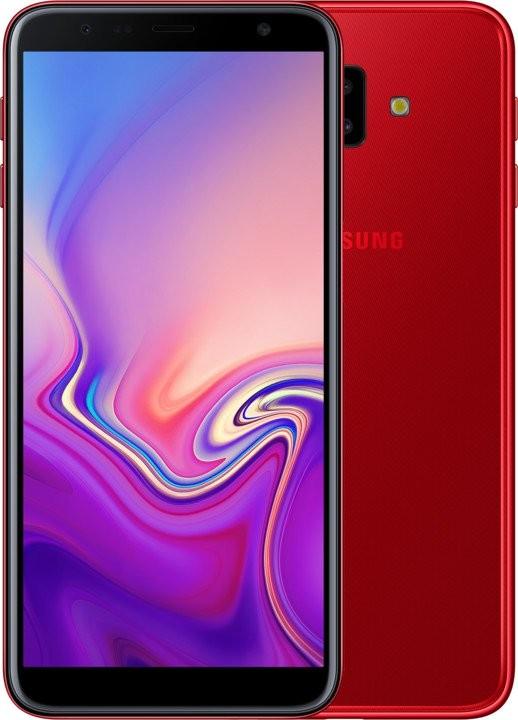 Android Mobilní telefon Samsung Galaxy J6 PLUS 3GB/32GB, červená