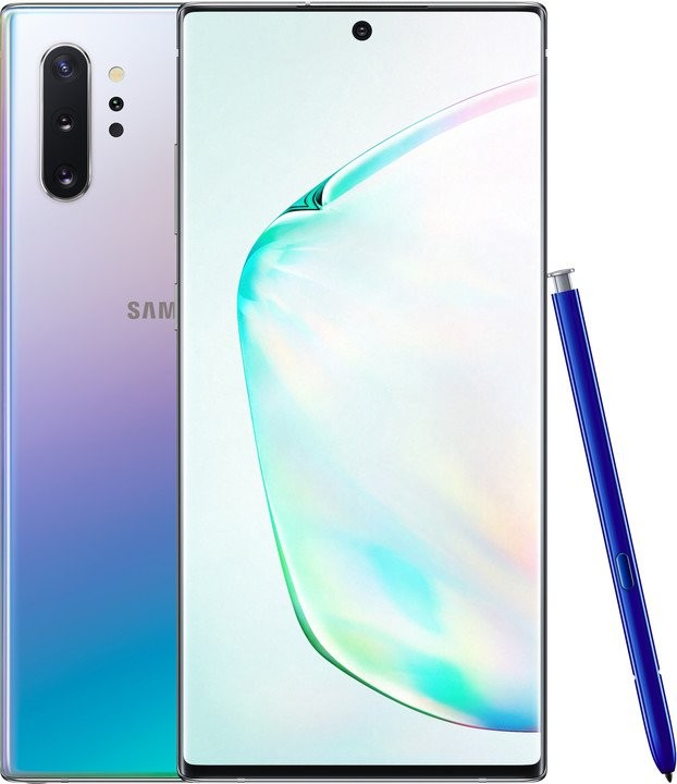 Android Mobilní telefon Samsung Galaxy Note 10 Plus 12GB/256GB, stříbrná