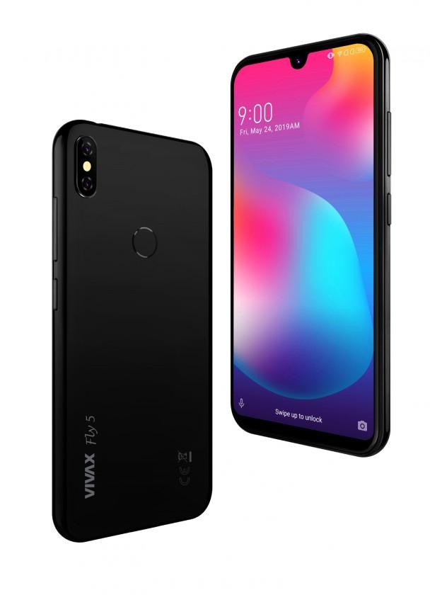 Android Mobilní telefon Vivax Fly 5 4GB/64GB, černá