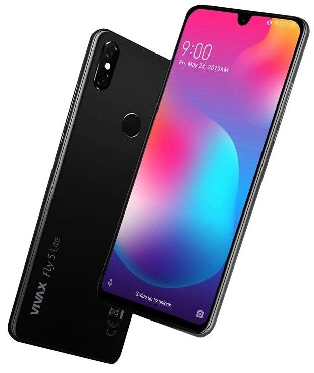Android Mobilní telefon Vivax Fly 5 Lite 3GB/32GB, černá