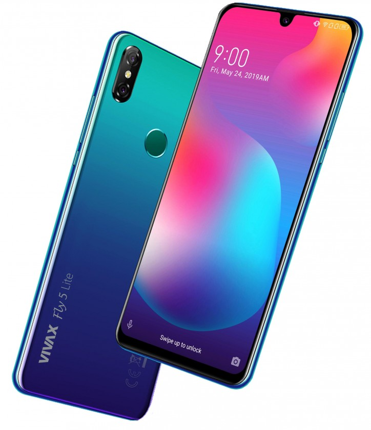 Android Mobilní telefon Vivax Fly5 Lite 3GB/32GB, modrá