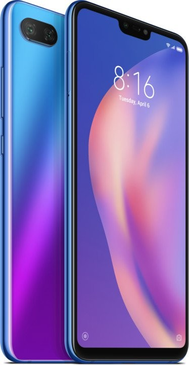 Android Mobilní telefon Xiaomi Mi 8 LITE 6GB/128GB, modrá